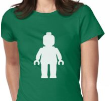 Minifig [White], Customize My Minifig Womens Fitted T-Shirt