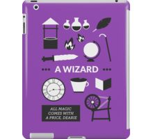 Once Upon A Time - A Wizard iPad Case/Skin
