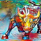 Wall Street Bull by siwabudda