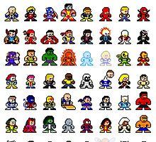 Marvelous 8-bit by 8 Bit Hero
