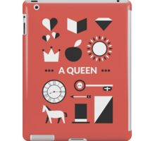 Once Upon A Time - A Queen iPad Case/Skin