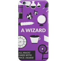 Once Upon A Time - A Wizard iPhone Case/Skin