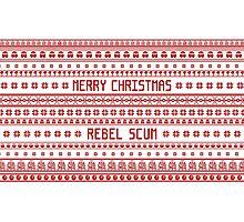 Merry Christmas Rebel Scum Photographic Print