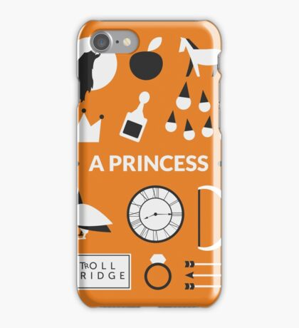 Once Upon A Time - A Princess iPhone Case/Skin