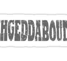 Fuhgeddaboudit! Sticker