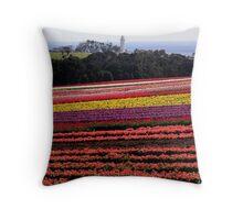 Tasmania-Tulips, Table Cape  Throw Pillow
