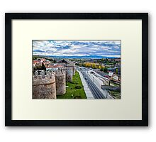 The Walls and the River Framed Print