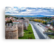 The Walls and the River Canvas Print