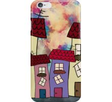 Lovely houses iPhone Case/Skin