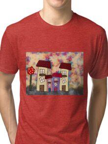 Lovely houses Tri-blend T-Shirt