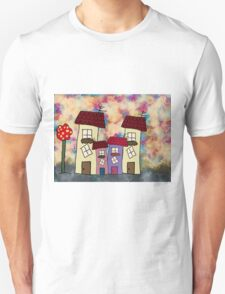 Lovely houses Unisex T-Shirt