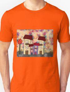 Lovely houses Unisex T-Shirt