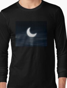 Moon on the water Long Sleeve T-Shirt