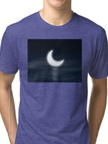 Moon on the water Tri-blend T-Shirt
