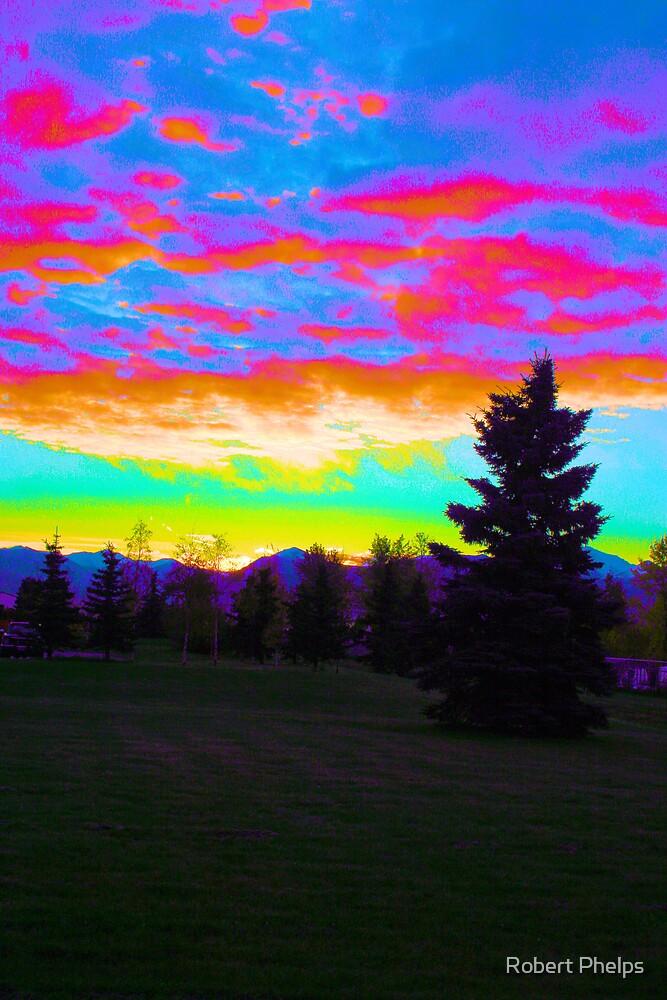 October Sunrise by Robert Phelps
