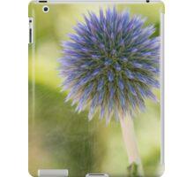 Echinops Blue iPad Case/Skin