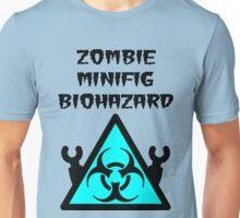 ZOMBIE MINIFIG BIOHAZARD Unisex T-Shirt