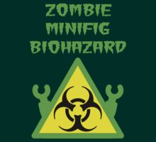 ZOMBIE MINIFIG BIOHAZARD by Customize My Minifig