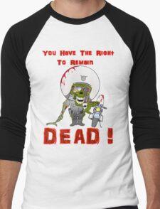 Zombie Cop Men's Baseball ¾ T-Shirt