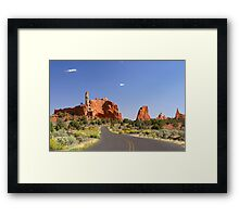 Road to Page Framed Print