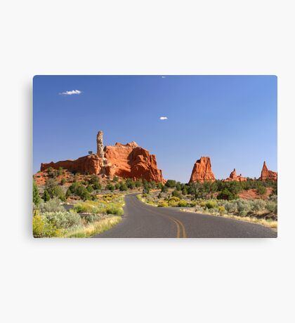 Road to Page Canvas Print