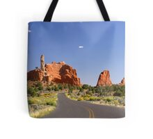 Road to Page Tote Bag