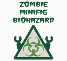 ZOMBIE MINIFIG BIOHAZARD One Piece - Long Sleeve