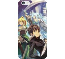 Anime: SWORD ART ONLINE iPhone Case/Skin