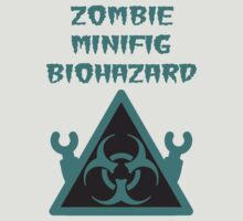 ZOMBIE MINIFIG BIOHAZARD by ChilleeW