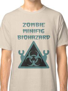 ZOMBIE MINIFIG BIOHAZARD Classic T-Shirt