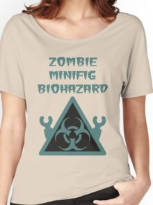 ZOMBIE MINIFIG BIOHAZARD Women's Relaxed Fit T-Shirt