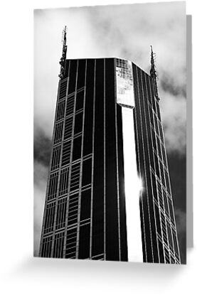 Melbourne Central Tower by Jonathan Russell
