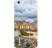 San  Geronimo Street, Avila iPhone Case/Skin