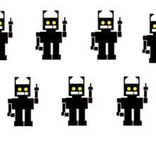 Mr Robot Army Sticker