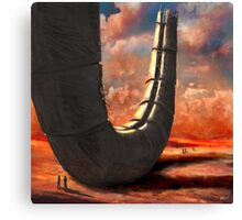 desert ruin Canvas Print