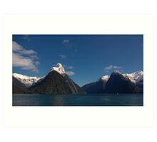 Milford Sound New Zealand 2 Art Print