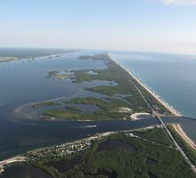 Indian River Lagoon and Sebastian Inlet by IRCbyAir