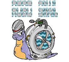 Robo Snail Photographic Print