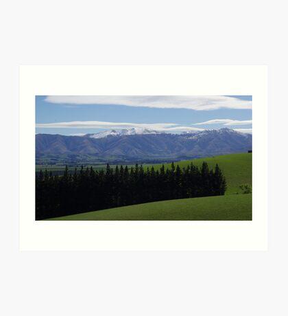 South Island New Zealand Art Print