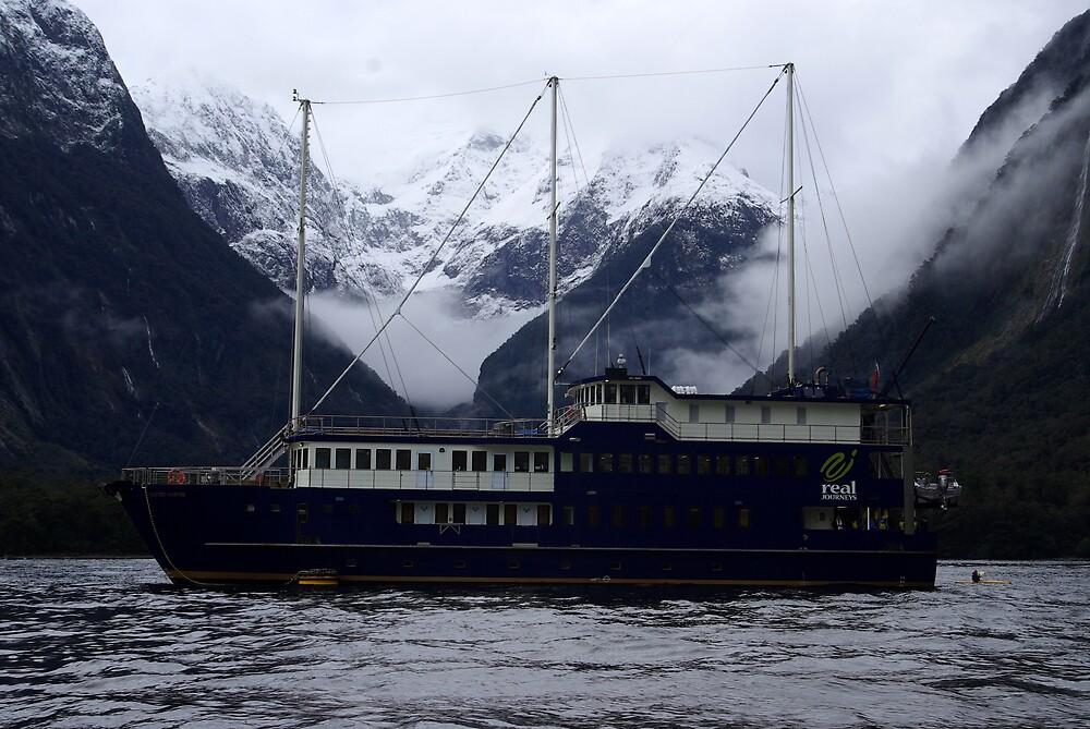 "Milford Sound New Zealand 5 - ""Milford Mariner"" by Geoff46"