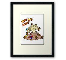 Revenge of Donkey Kong Framed Print