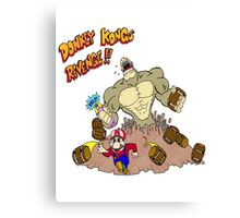 Revenge of Donkey Kong Canvas Print
