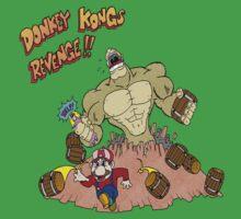 Revenge of Donkey Kong Kids Tee