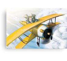 from the Vault - Born to Fly Canvas Print