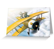 from the Vault - Born to Fly Greeting Card