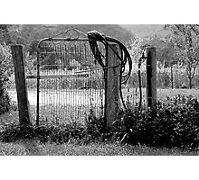 Use The Gate Photographic Print