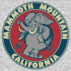Mammoth Mountain California Skiing Vintage Travel Decal by hilda74