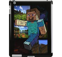 Minecraft Steve Typograpghy iPad Case/Skin