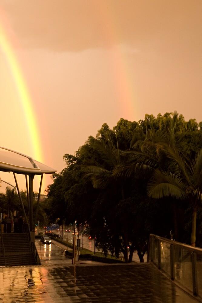 Double Rainbow by J Harland