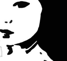 cold shoulder Sticker